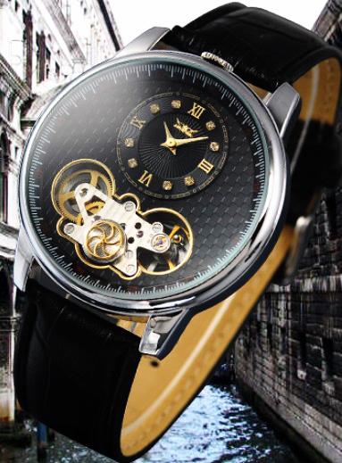 ba66df0b197 Dualní mechanické hodinky Proximo